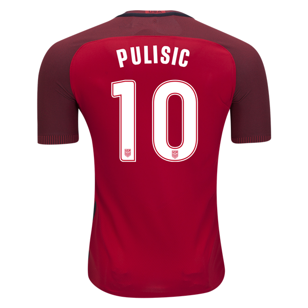 new arrival 36aec b175f Nike Christian Pulisic USA Authentic Third Jersey 2017 ...