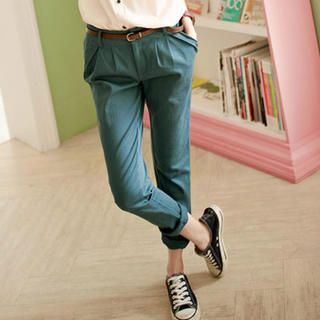 Buy 'Tokyo Fashion – Slim-Fit Tapered Pants' at YesStyle.com plus more Taiwan items and get Free International Shipping on qualifying orders.