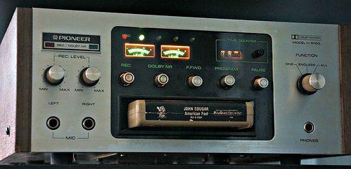 Analog Dreams Pioneer H R100 8 Track Player Recorder Hifi Audio Audio Vintage