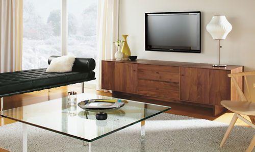 Charmant Hudson Media Cabinets With Wood Base   Media Storage   Living   Room U0026 Board