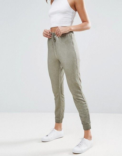 Pantalon de jogging slim avec ourlet resserré  a1650bd4f85