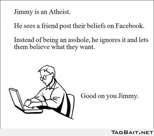 Good on you Jimmy