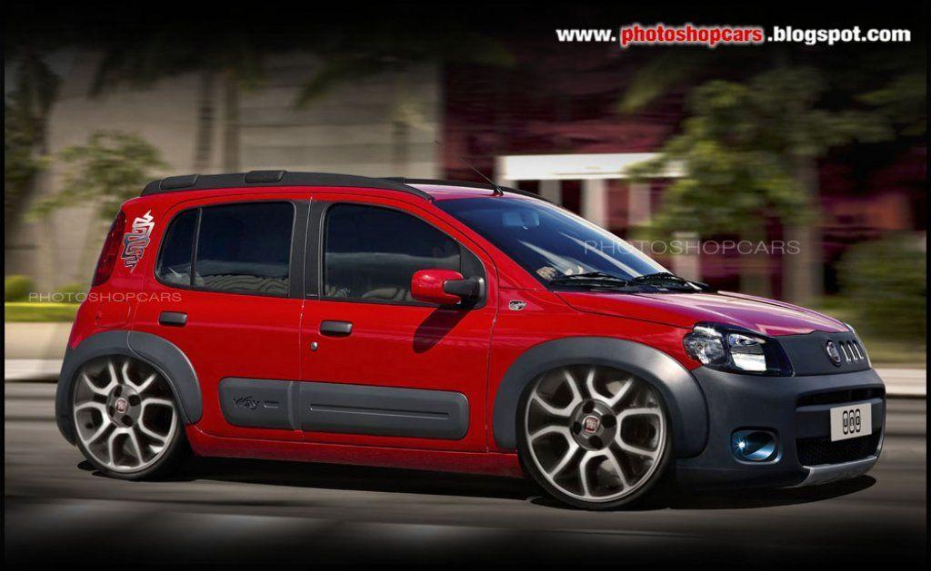 Novo Fiat Uno Tunado 5 Tunados Fiat Uno