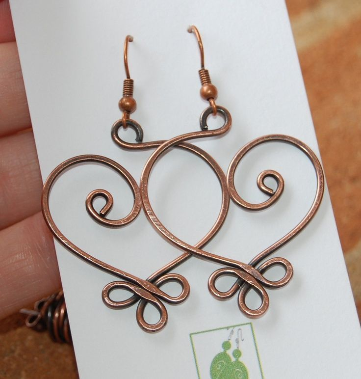 Copper Wire Jewelry - Bing Images   Wire wrap inspiration ...