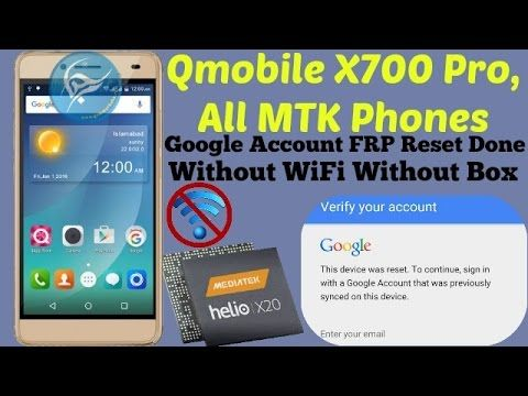 How To Google Account Bypass Qmobile X700 Pro FRP Reset Done