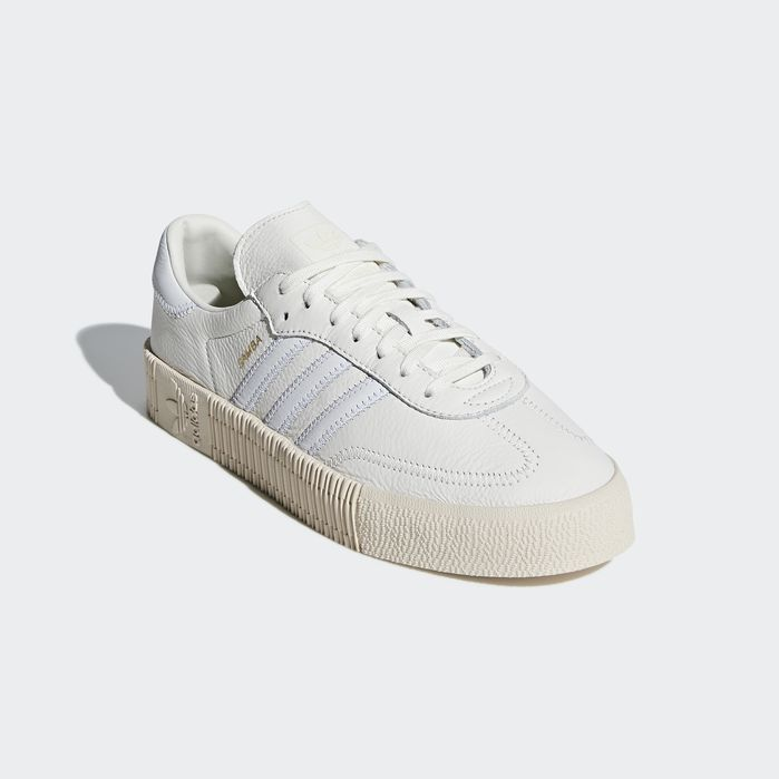 9309ea921f SAMBAROSE Shoes White 7 Womens | Products | Shoes, Adidas, Platform ...