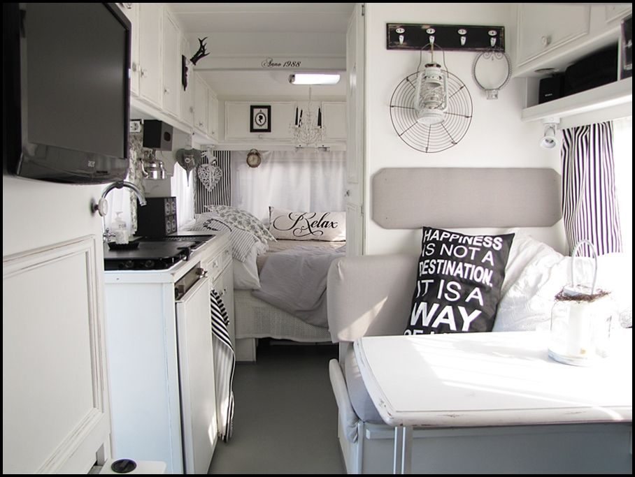 inspo home sweet motorhome rv remodeling pinterest. Black Bedroom Furniture Sets. Home Design Ideas