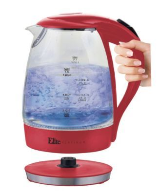 EliteElite 1.7 Liter Glass Cordless