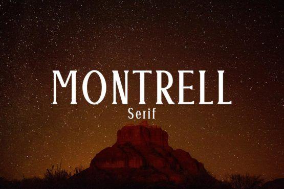 Free Montrell Serif Font