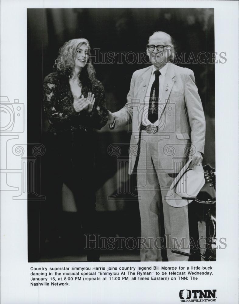 Bill Monroe & Emmylou Harris