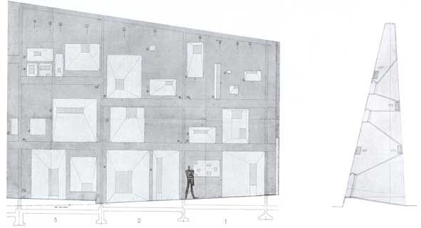 Visible certainty urbain fa ade sud chapelle de for Ouvrage d architecture