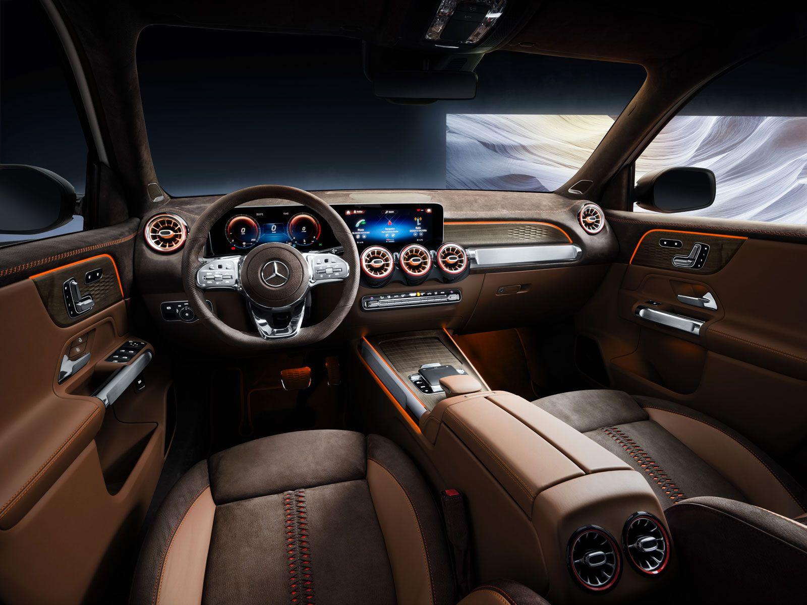Mercedes Benz Concept Glb Interior With Images Mercedes