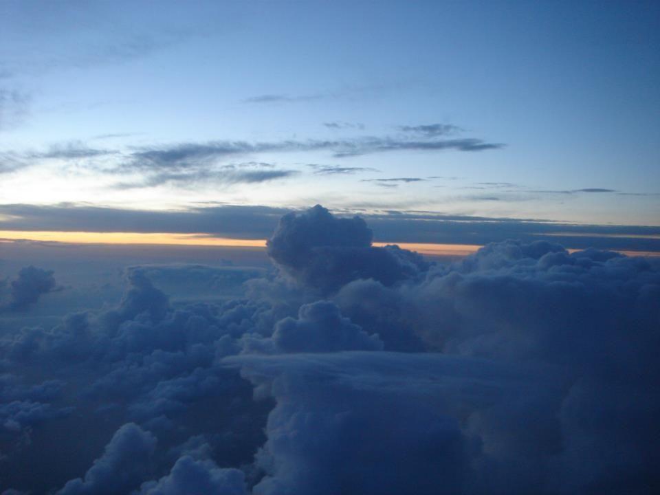 China desde el avión