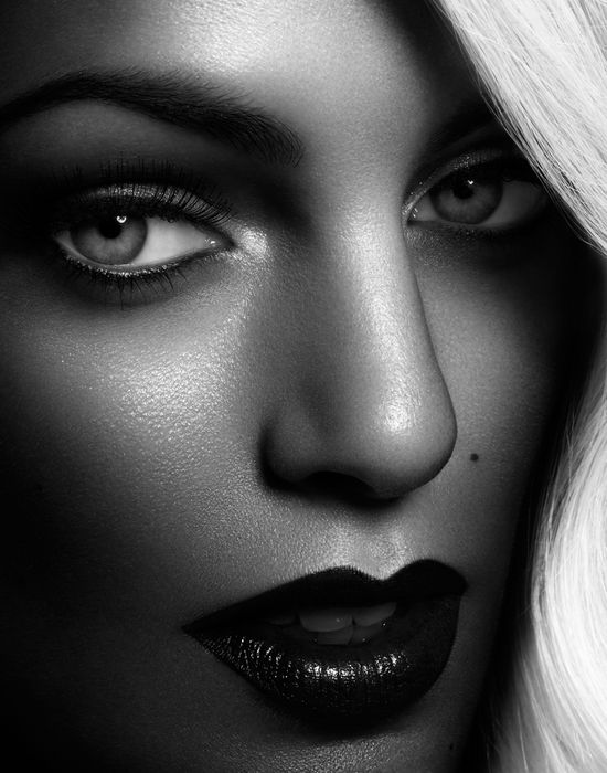 How To Do Makeup For Black And White Photography The Best ...