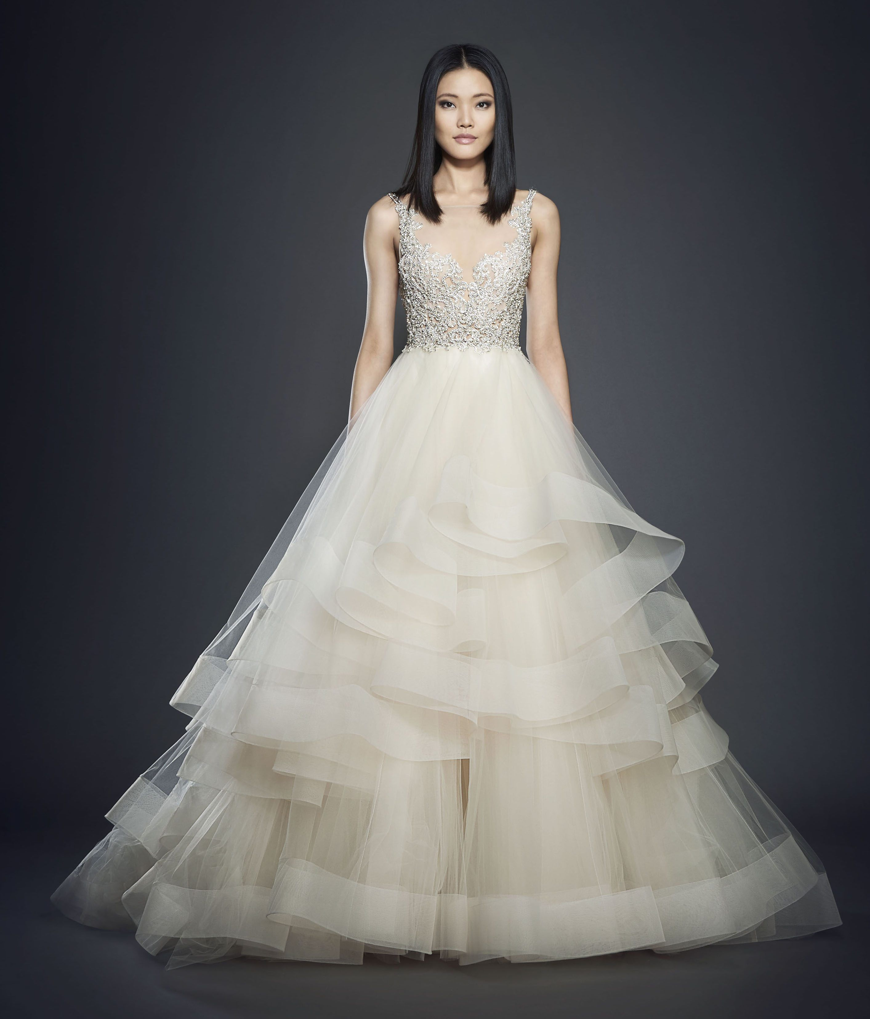 Bridal Gowns and Wedding Dresses by JLM Couture - Style 3708 ...