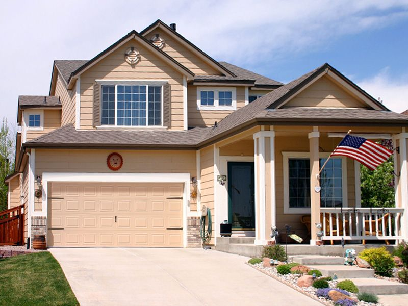 View Examples Of Our Garage Door Decorative Accessories After