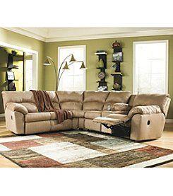 Berkline Kalypso 2 Piece Reclining Sectional Furniture