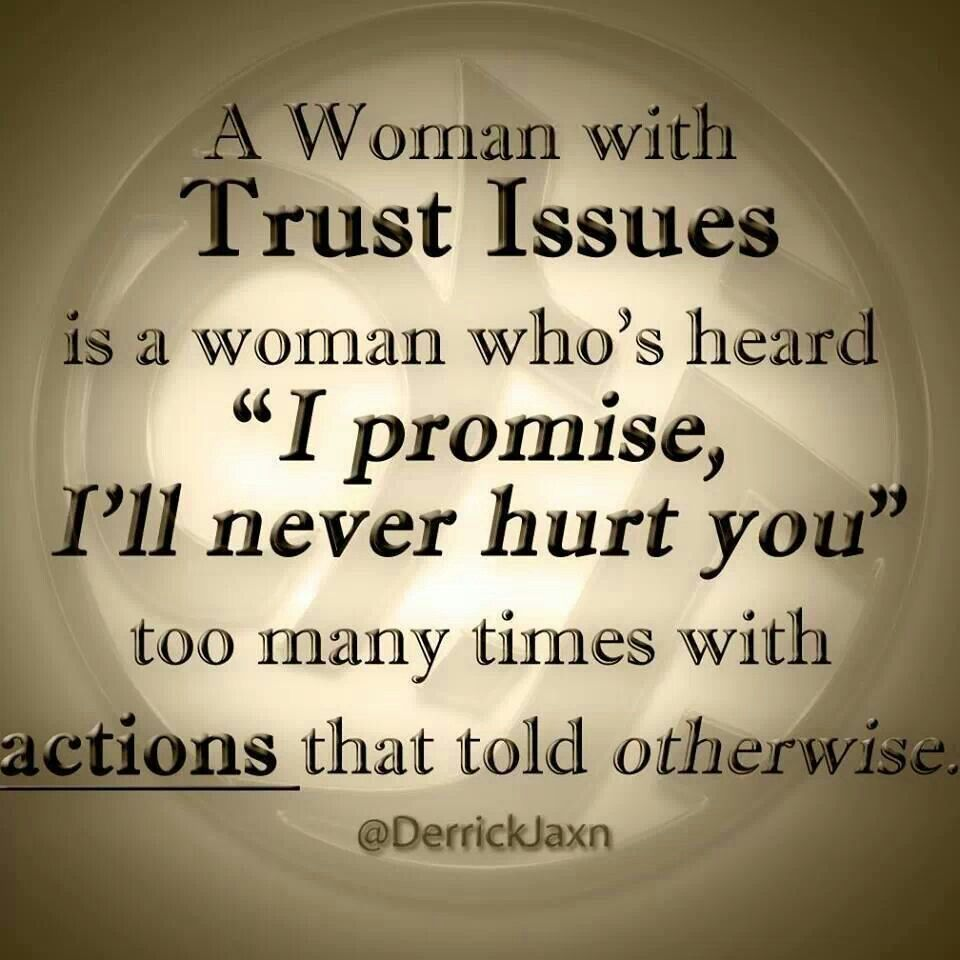 can you trust a man