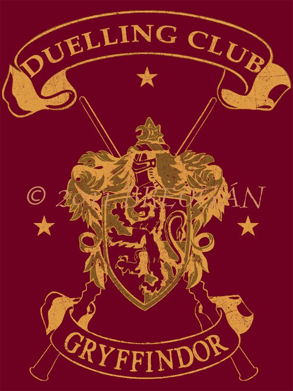 Gryffindor Duelling Club Tee By Breogan On DeviantArt