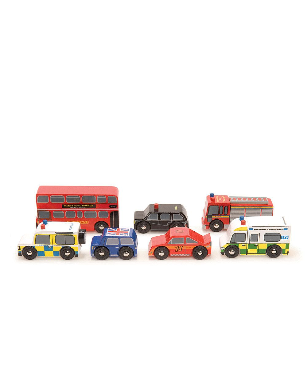 Toys car garage  Look at this Le Toy Van London Car Set on zulily today  Wooden