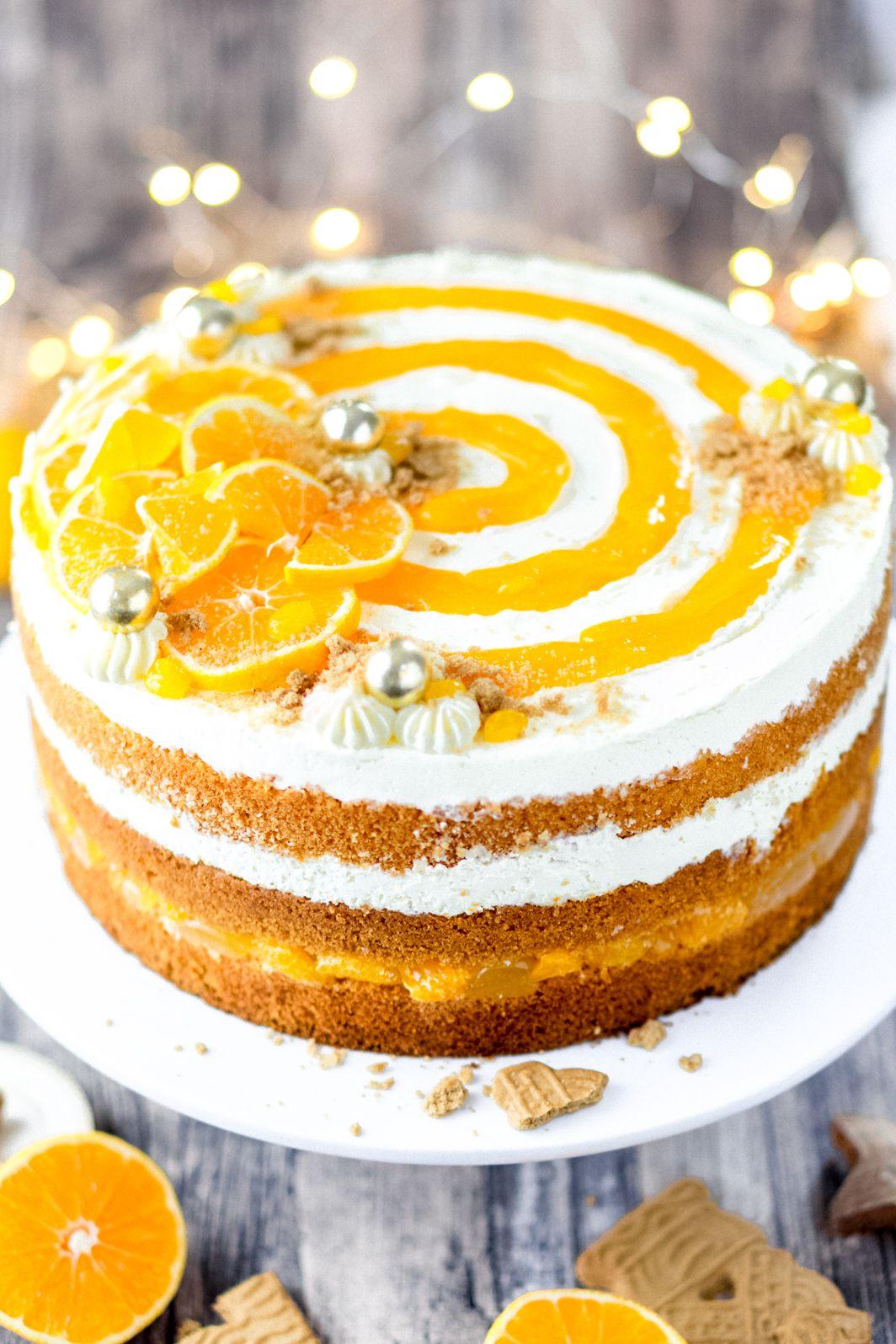 Photo of Christmas mandarin cake recipe