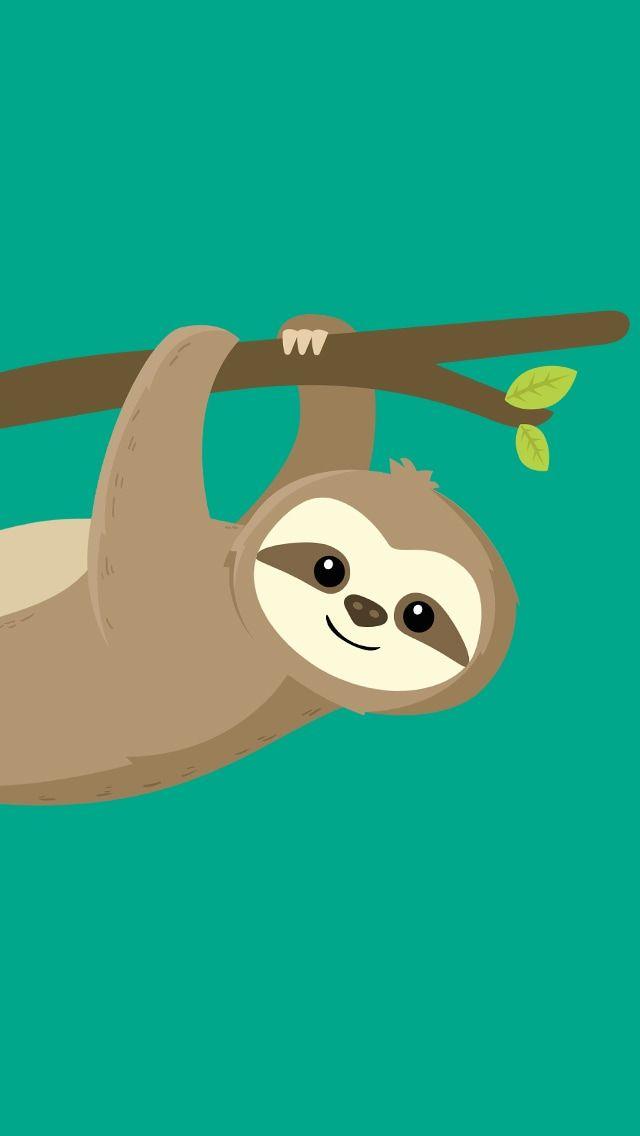 Sloth inspired Watercolour poster print wall art gift decor merchandise