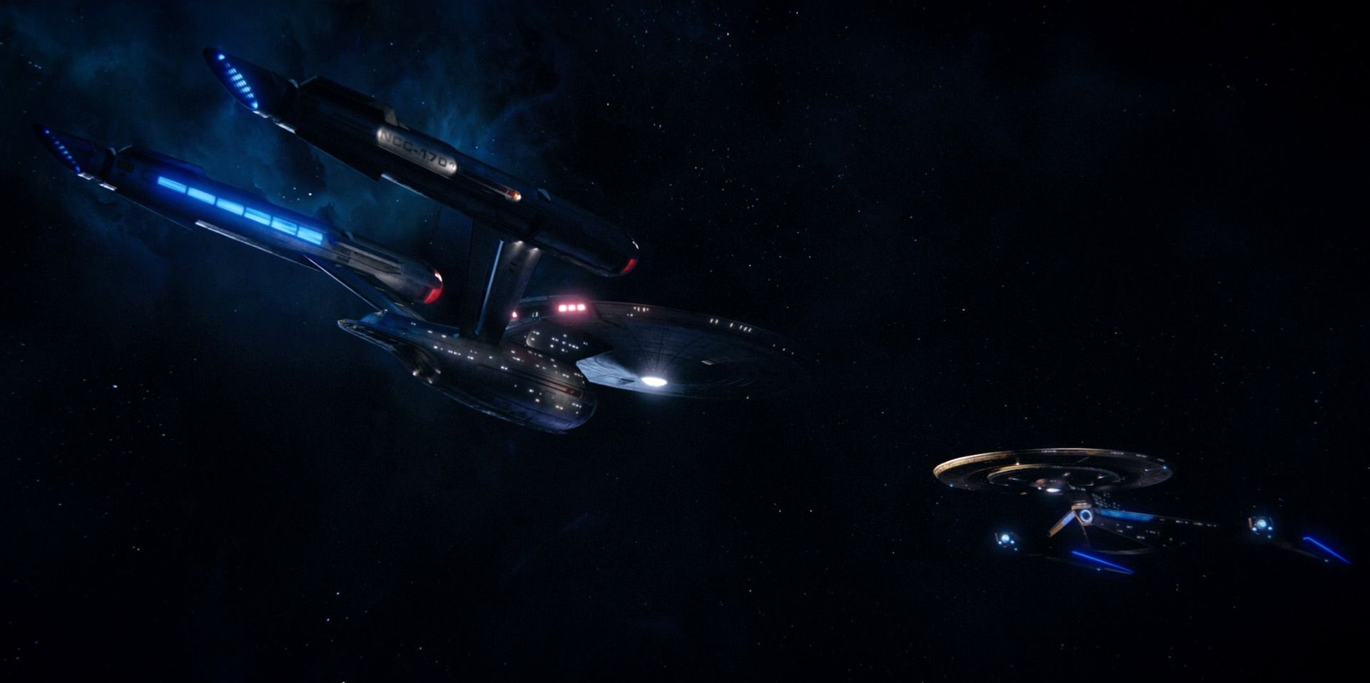 Review Star Trek Discovery Season 1 On Blu Ray Trekcore Blog Star Trek Uss Discovery Trek