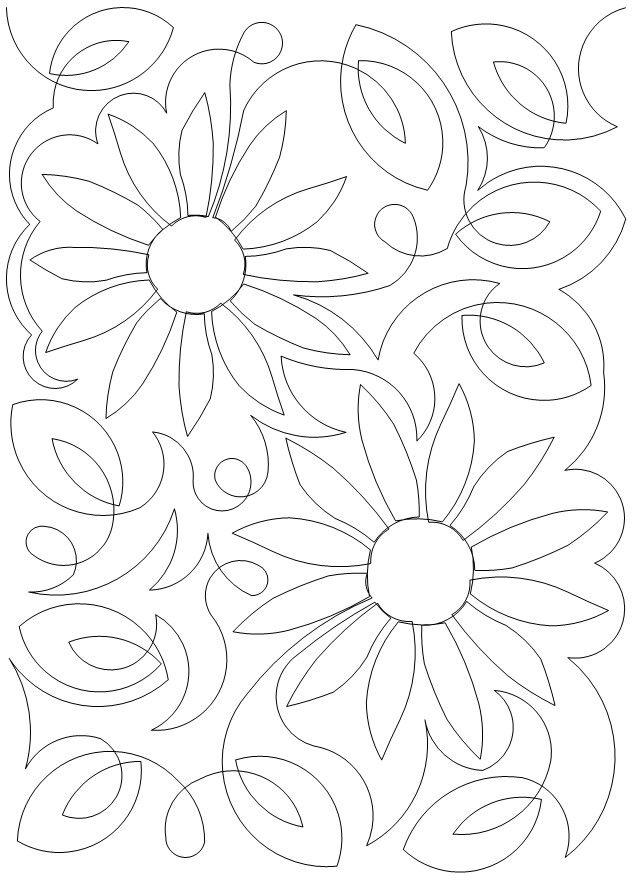 Sunflowers $.02 | flores y guardas | Bordado, Patrones y Patrones de ...