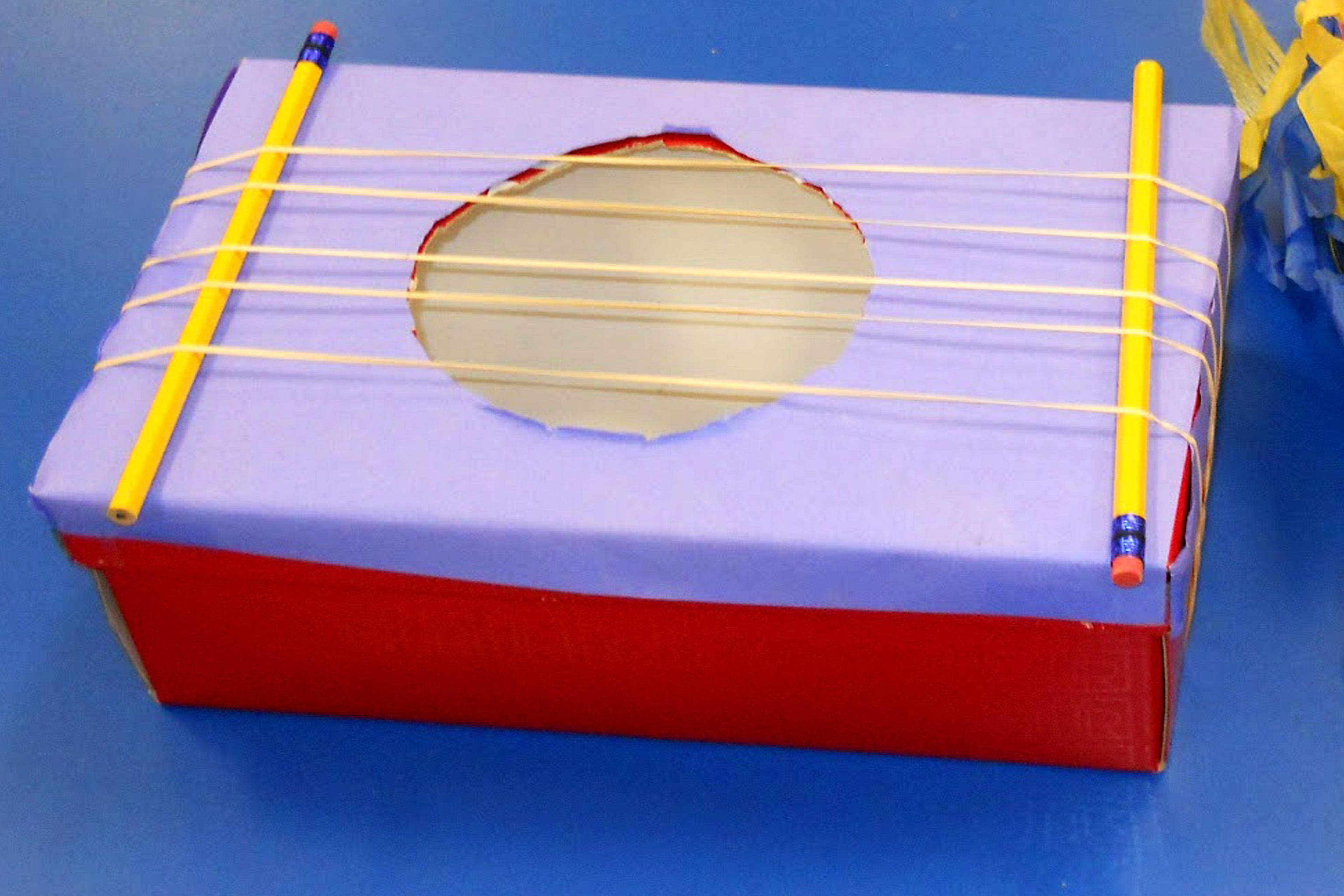 Make A String Instrument Homemade Musical Instruments