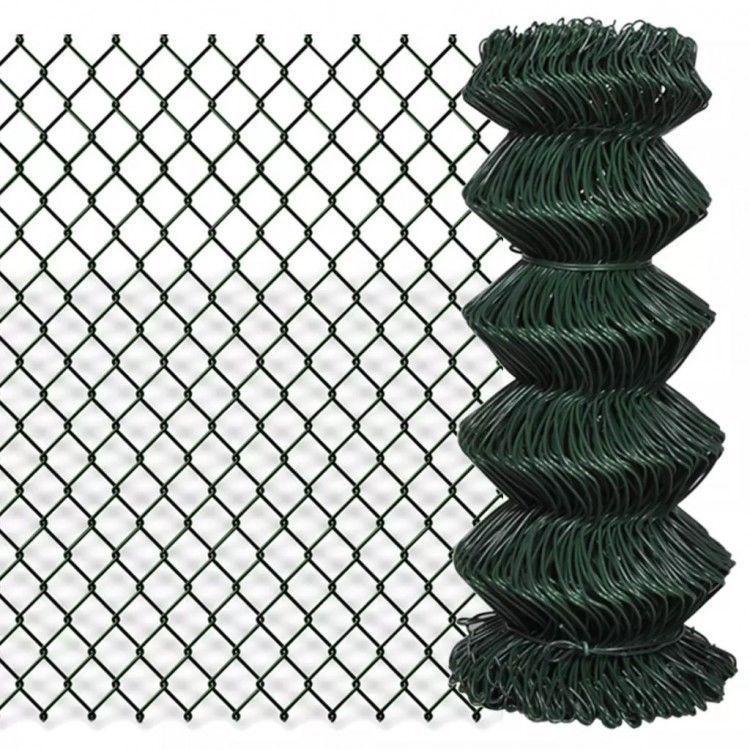 Chain Fence Green Privacy Mesh Screen Property Galvanized Steel Wires Garden Net Sales Home Garden Discounts Maschendrahtzaun Metallzaun Maschendraht