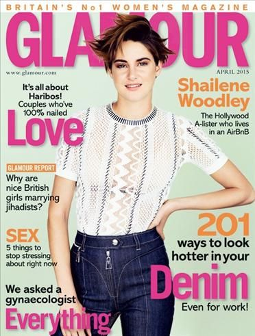 Glamour magazine subscription plz! to 4 bury street I guess hehe