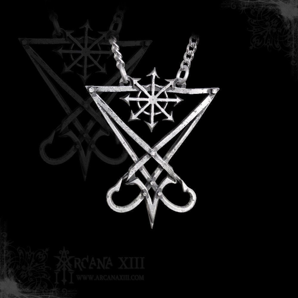 Seal Sigil of Lucifer with Chaos Star, the Chaos Lucifer ...  Seal Of Lucifer Tattoo