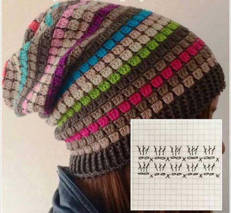 rengarenk-iplerle-orgu-bere-yapilisi-2 | knitting and crochet ...