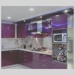 Photo of 15 Good Purple Colour Kitchen Interior Image