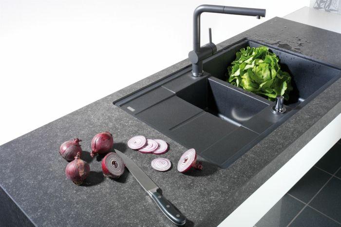 Keramikarbeitsplatten u2013 Was macht Keramik so einsatzbereit aus - steckdose arbeitsplatte küche