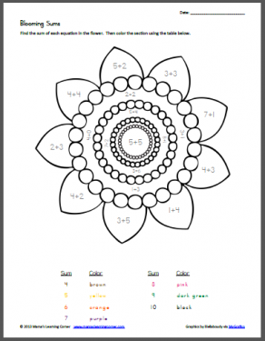 math worksheet : 1000 images about color by numbers on pinterest  color by  : Color By Number Worksheets Addition