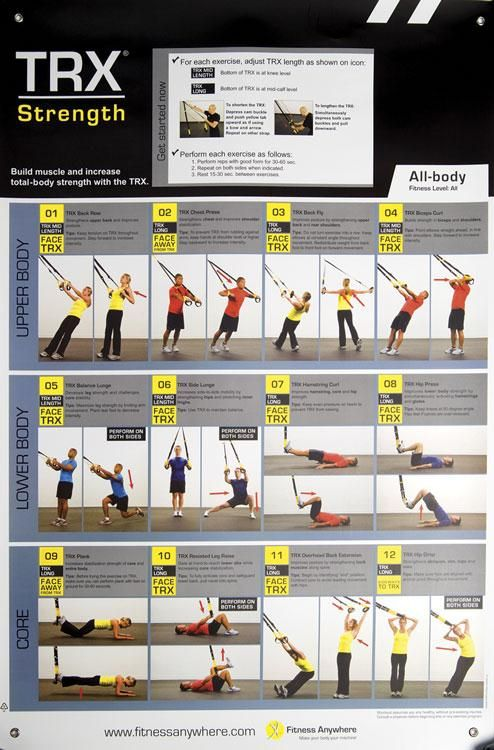 Comprehensive image inside printable trx workout