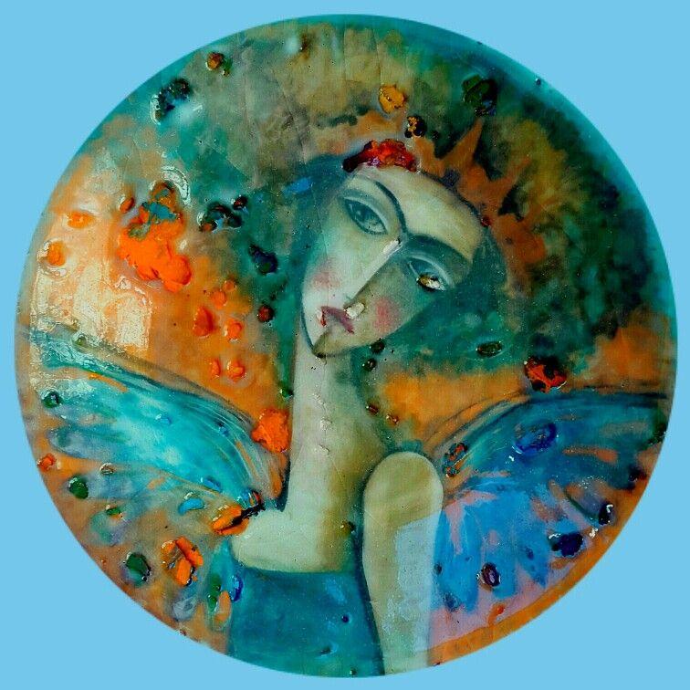 under glaze painting by marjan hasaneyni