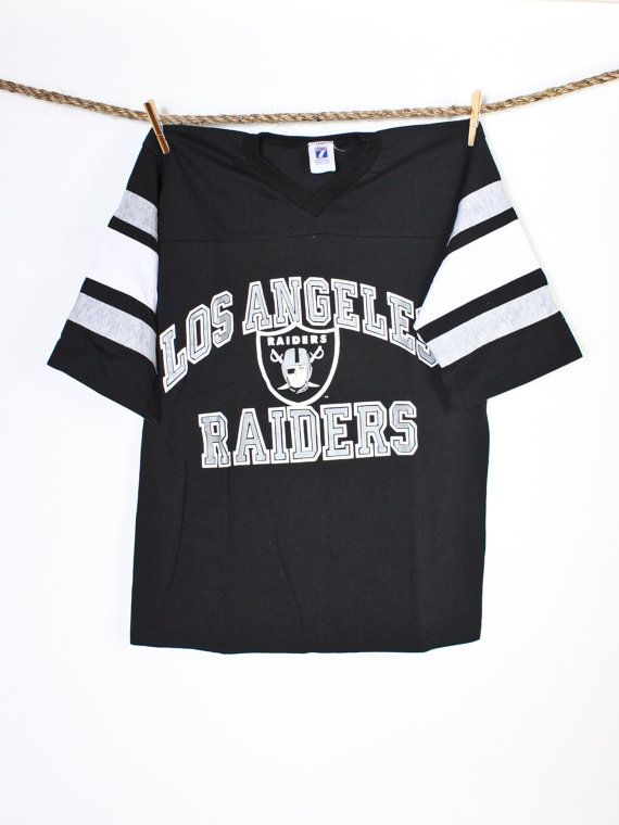 Wholesale Vintage Los Angeles Raiders TShirt Label Size M by Flyinganyc  for cheap
