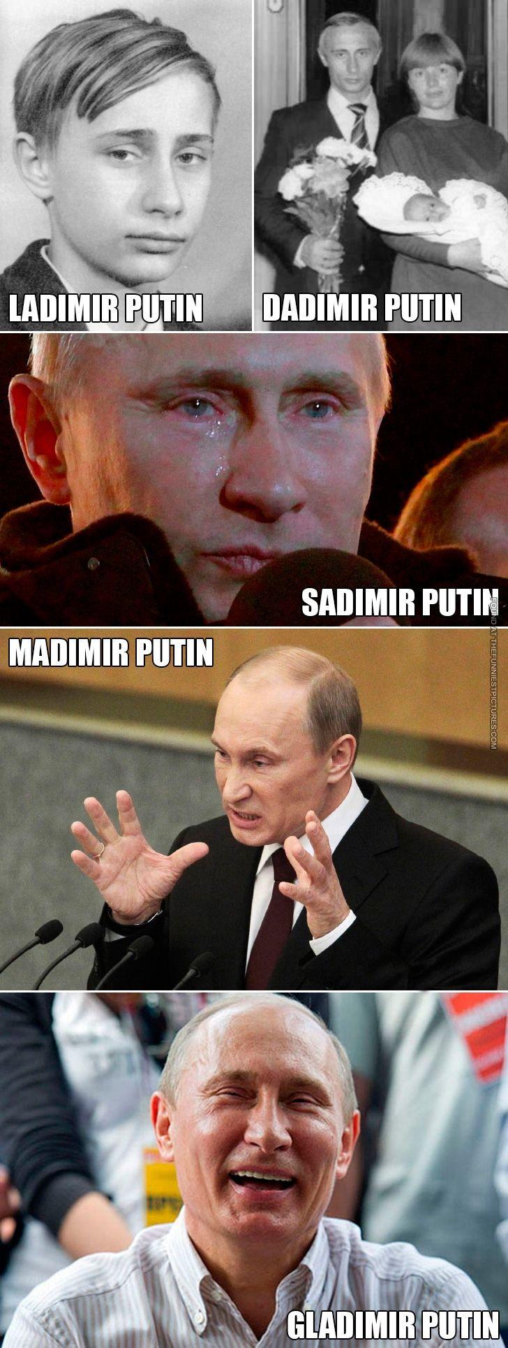 Different Putins