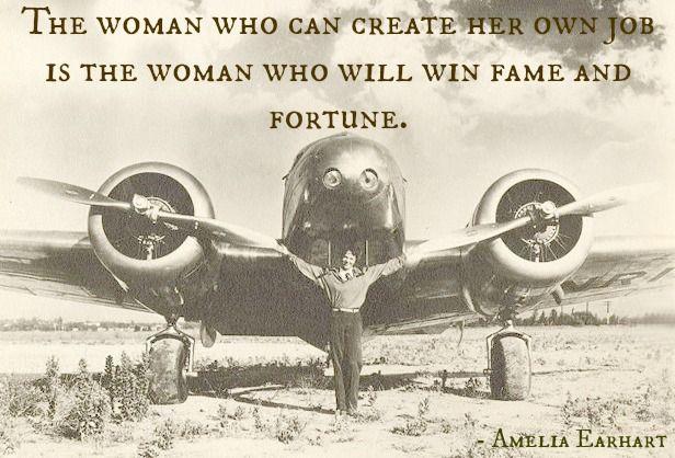Amelia Earhart Quote Manda Blogs About Amelia Earhart Amelia Earhart Picture Amelia
