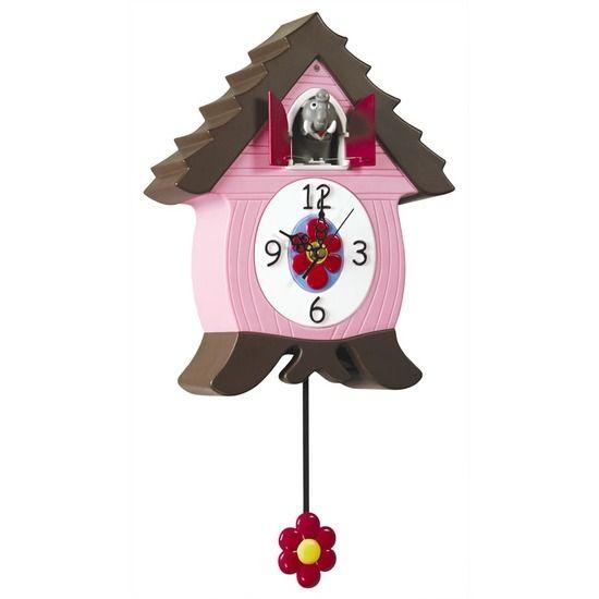 Coo Coo Clocks Novelty Elephant Cuckoo Cat Clock Kids Wall Clock Cuckoo Clock