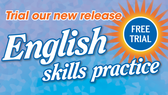 English skills practice is a series of six workbooks which incorporate the requirements of the Australian National Curriculum. The object of the series is to provide comprehensive and structured daily practice of already-taught literacy and language skills in spelling, word literacy, punctuation and grammar. Click the link to order a free trial set for your classroom.