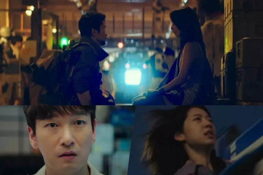 """Watch: Park Shin Hye Goes Back In Time To Warn Cho Seung Woo In """"Sisyphus: The Myth"""" Teaser"""