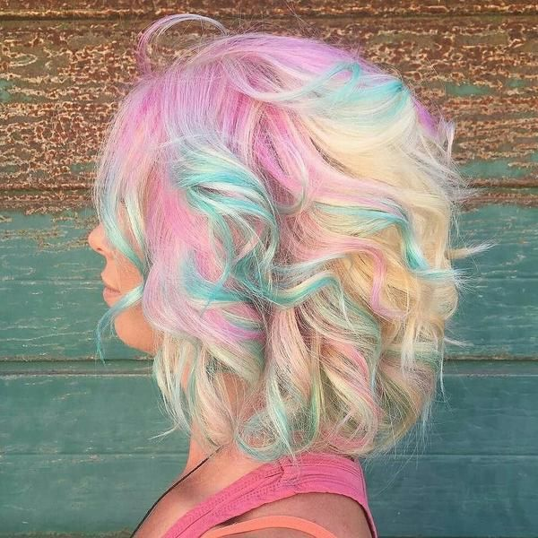Pin By Iroiro Colors On Awesome Hair Colors Permanent Hair Color Candy Hair Pastel Rainbow Hair