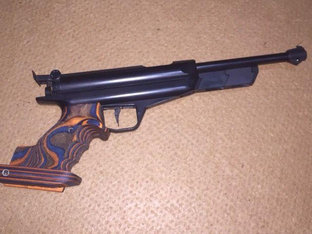 My Feinwerkbau FWB80 with Rink Grips | Competition Shooting