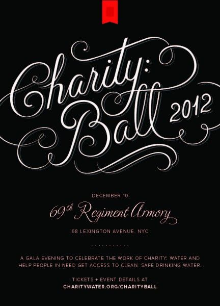 Unique Invitations You Can Plant ~ Black Tie Gala Gala - ball ticket template