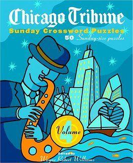 photograph relating to Printable Chicago Tribune Crossword identify Chicago Tribune Sunday Crossword Puzzles, Quantity 4 (The