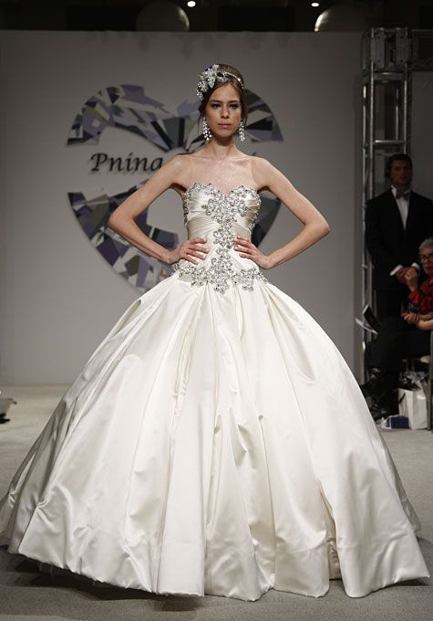 Justin alexander spring 2015 style 8763 embroidered lace and pnina tornai 4019 wedding dress currently for sale at off retail junglespirit Gallery