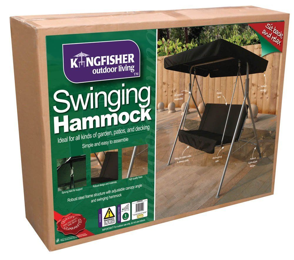 kingfisher 2 seater swinging hammock bench seat with canopy     you can find out kingfisher 2 seater swinging hammock bench seat with canopy      rh   pinterest